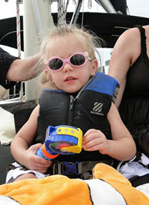 Kids love family cruises with Key Sailing Sarasota - call us for an affordable private charter